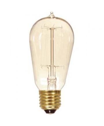 satco s2413 satco light bulbs 40st19/clear/15s/120v 40