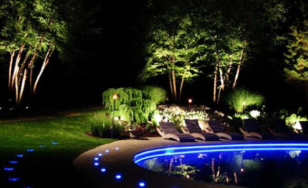 Landscape Lighting Landscape Flood Light And Pathway