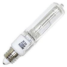 Mini Candelabra Base E11 Halogen Light Bulb