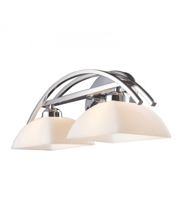 ELK Lighting 10031/2 Arches 2 Light Vanity in Polished Chrome