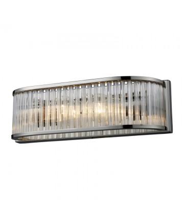 ELK Lighting 10126/2 Braxton 2 Light Vanity in Polished Nickel