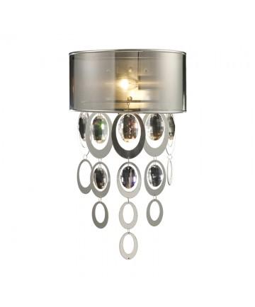 ELK Lighting 14060/1 Parisienne 1 Light Sconce in a Silver Leaf Finish