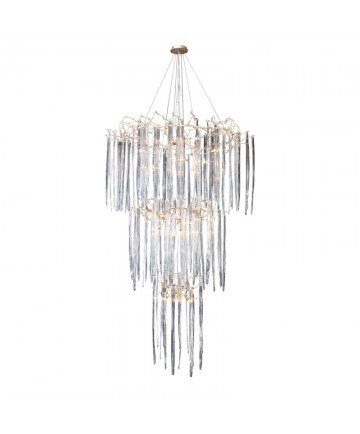 ELK Lighting 1746/29 Cascadia 29 Light Chandelier in Silver