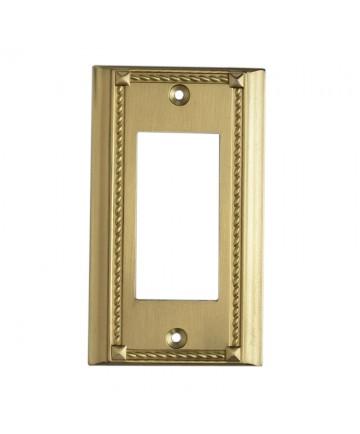 ELK Lighting 2502BR Clickplates Brass Single Switch Plate