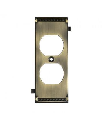 ELK Lighting 2503AB Clickplates Antique Brass Middle