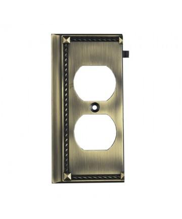 ELK Lighting 2506AB Clickplates Antique Brass End