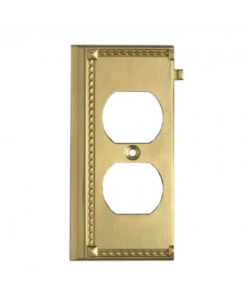 ELK Lighting 2506BR Clickplates Brass End Switch Plate