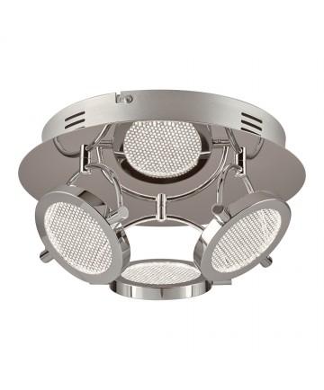 PLC Lighting 40006PC Ariella Led 3-Lite Ceiling