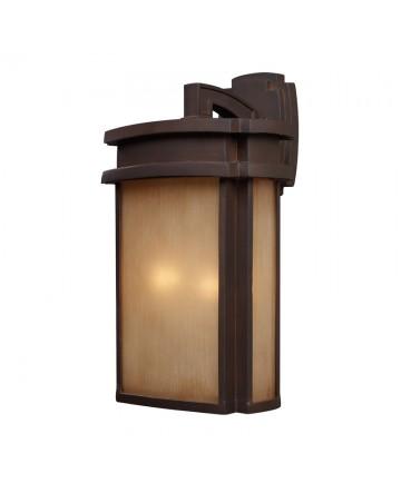 ELK Lighting 42142/2 Sedona 2 Light Sconce in Clay Bronze