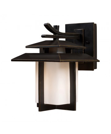 ELK Lighting 42170/1 Kanso 1 Light Outdoor Sconce in Hazelnut Bronze