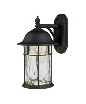 ELK Lighting 42260/1 Lapuente 1 Light Outdoor Title 24 Compliant LED Wall Mount in Matte Black