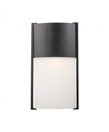 ELK Lighting 42288/1 Glendon 1 Light Outdoor LED Sconce in Matte Black