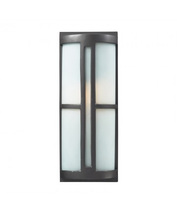 ELK Lighting 42395/1 Trevot 1 Light Outdoor Sconce in Graphite
