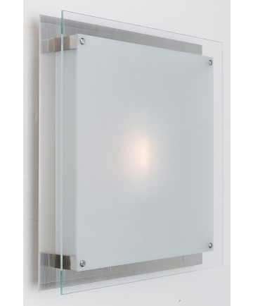 Access Lighting 50031-BS/FST Vision Wall Fixture or Flush-Mount