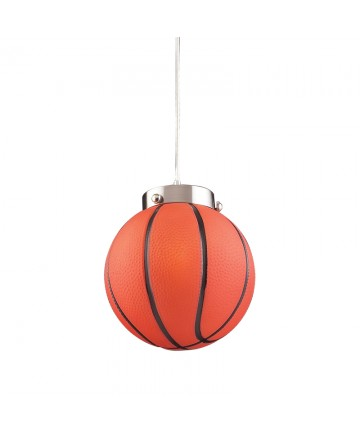 ELK Lighting 5137/1 Novelty 1 Light Basketball Pendant
