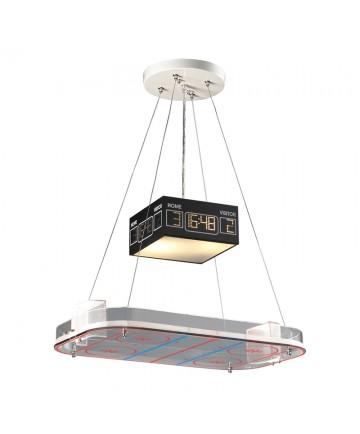 ELK Lighting 5138/2 Novelty 2 Light Pendant in a Hockey Motif