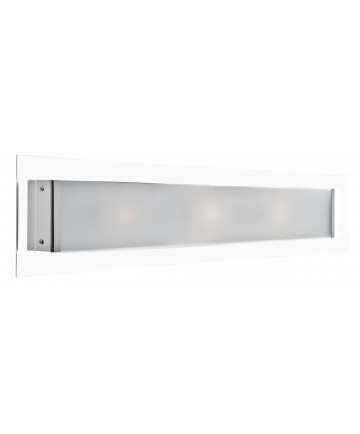 Access Lighting 53344-CH/CLOP Piazzo Cut Glass Wall Fixture