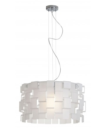 Access Lighting 55528-CH/AFR Dinari Acrylic ZIG ZAGPendant