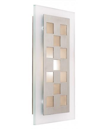 Access Lighting 62095-BS/FST Aquarius Squares Wall Fixture