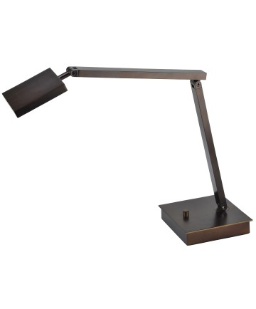 Access Lighting 72005LEDD-BRZ TaskWerx Urban LED Table Lamp