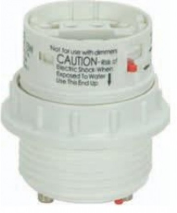 Satco 80/1713 Satco 18 Watt Electronic Self-Ballasted CFL Socket Lampholder