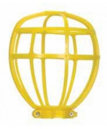 Satco 90/2612 Satco Yellow Trouble Light Plastic Bulb Cage