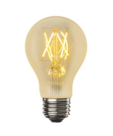 Bulbrite 776602   4 Watt LED Nostalgic Filament A19 Bulb, Medium (E26)