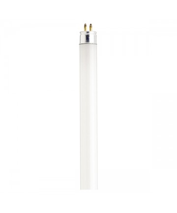 Satco S1906 Satco F13T5/CW 13 Watt T5 21 inch Mini Bi-Pin Base Cool White 4100K Preheat Fluorescent Tube/Linear Lamp