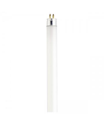 Satco S1907 Satco F13T5/WW 13 Watt T5 21 inch Mini Bi-Pin Base Warm White 3000K Preheat Fluorescent Tube/Linear Lamp
