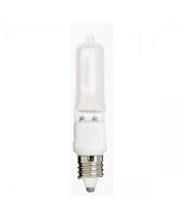 Satco S1913 Satco Light Bulbs 35Q/FR/MC - 35 Watt - 120 Volt - T4 - E11 Mini Can - Frosted - Halogen JD Light Bulb
