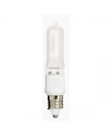 Satco S1918 250Q/F/MC 250 Watt 120 Volt T4.5 E11 Mini Can Frost Halogen Light Bulb