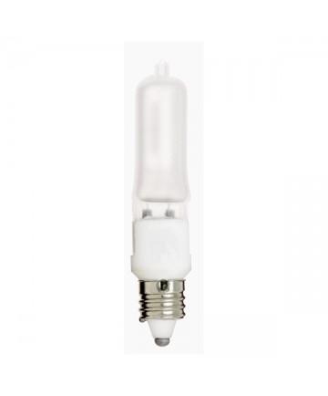 Satco S1918 250Q/F/MC 250 Watt 120 Volt T4.5 E11 Mini Can Frost Halogen Bulb