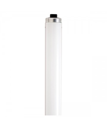 Satco S2939 Satco F48T12/DSGN50/HO 60 Watt T12 48 inch Recessed Double Contact Base Designer 5000K High Output Fluorescent Tube/Linear Lamp