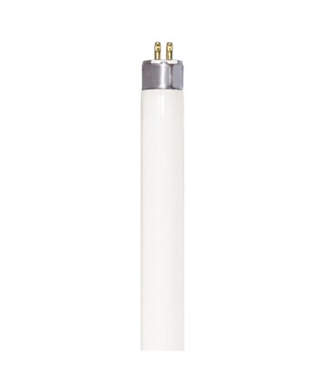 Satco S6425 Satco FP14/830 14 Watt T5 24 inch Mini Bi Pin Base 3000K Tri-Phosphor High Performance Fluorescent Tube/Linear Lamp