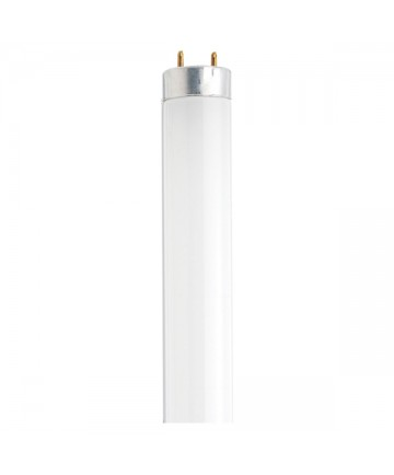 Satco S6514 Satco F18T8/CW/K/26 18 Watt T8 26 inch Medium Bi Pin Base Cool White Preheat Fluorescent Tube/Linear Lamp