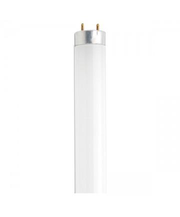 Satco S6515 Satco F18T8/CW/K/28 18 Watt T8 28 inch Medium Bi Pin Base Cool White Preheat Fluorescent Tube/Linear Lamp