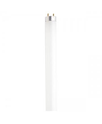 Satco S6524 Satco FO17/835/ECO 17 Watt T8 24 inch Medium Bi Pin Base 3500K Electronic Ecologic Fluorescent Tube/Linear Lamp