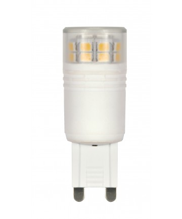 Satco S9224 LED 3.0W G9 220L 3000K DIM 3 Watts 120 Volts 3000K LED