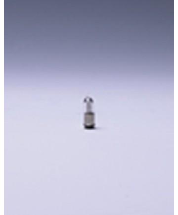 Satco E394 Satco 0.48 Watt (0.04 Amp) 12 Volt T1.75 Midget Flanged Base Clear Miniature Light Bulb