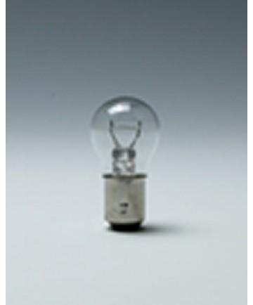 Satco E198 Satco 28.8 Watt (2.25 Amp) 12.8 Volt S8 DC Bayonet Base Clear Miniature Light Bulb