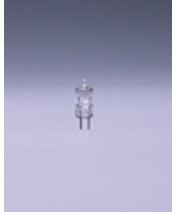 Satco E891 Satco 100 Watt (8 Amp) 12.8 Volt T2.5 BiPin G4 Base Miniature Clear Halogen Light Bulb