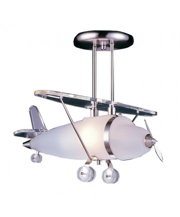 ELK Lighting 5051/1 Prop Plane 1-Light Pendant