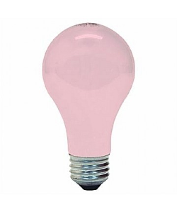 Ge 97483 60a Spk 2pk Ge 60 Watt Soft Pink 120 Volt A19 E26 Medium Base 1000 Hours Incandescent