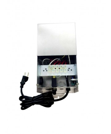 Hatch Transformers GLS-600 - 600 Watt - Dual Tap 12V - 13V Output Circuits - Stainless Steel - Outdoor Landscape Transformer