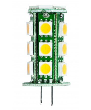 Halco 80781 JC20/2RED/LED LED JC 1.8W RED NON-DIMMABLE G4 PRO