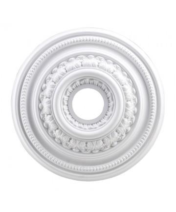 ELK Lighting M1002WH English Study Medallion 18 Inch in White Finish