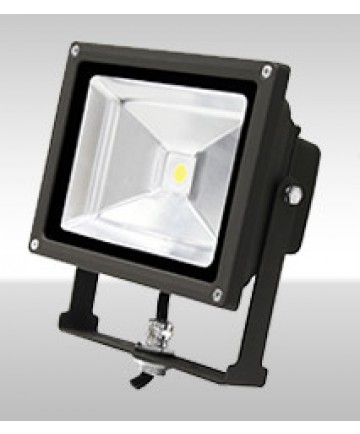 MaxLite 77089 FLS20U50B Maxlite 20-Watt LED Small Yoke Wide Flood