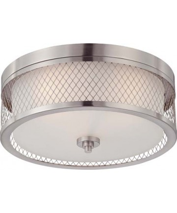 Nuvo Lighting 60/4691 Nuvo Fusion Collection 3-Light Dome Flush Mount