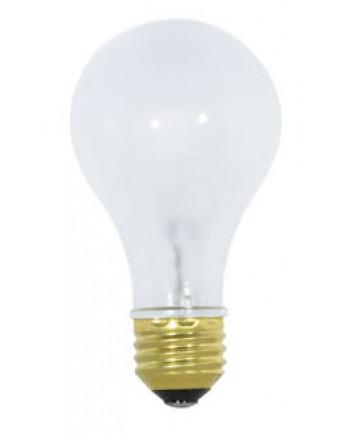 Satco S1943 Satco 42A/CAP 42 Watt 120 Volt A19 A-Line Medium Base Frosted Capsylite Halogen Light Bulb