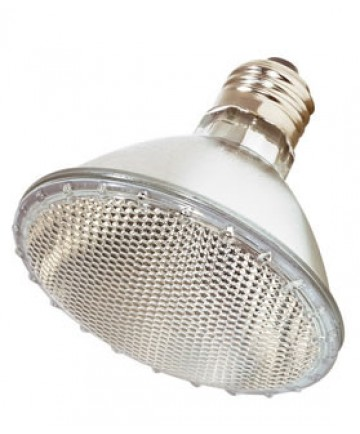 Satco S2312 Satco 75PAR30/HAL/NSP 130V 75 Watt 130 Volt PAR30 Medium Base Narrow Spot Halogen Light Bulb